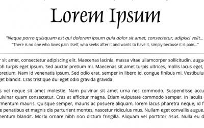 The random fun of Lorem Ipsum Generators