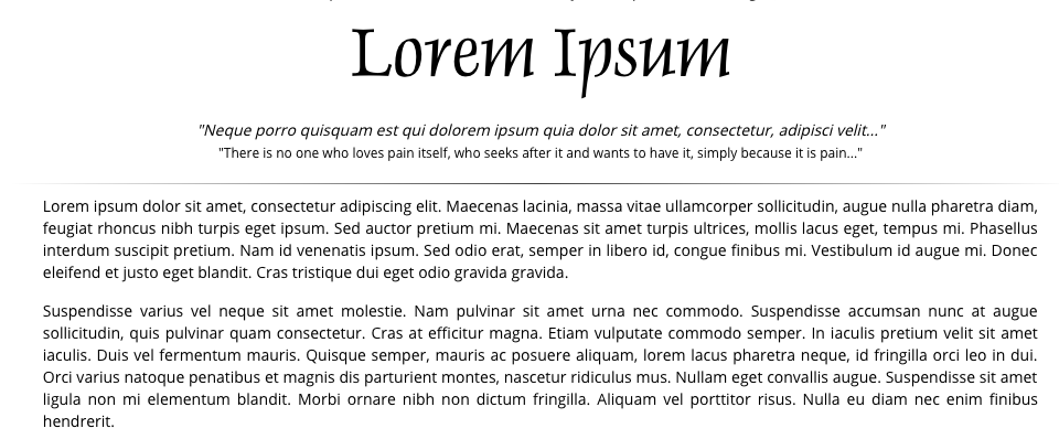 The random fun of Lorem Ipsum Generators